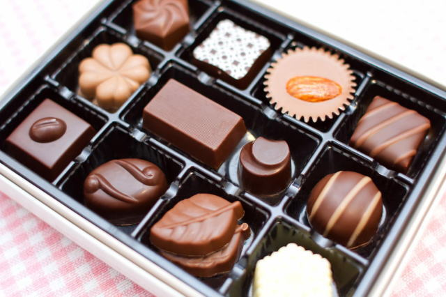 ホワイトデーにチョコレートのお返し