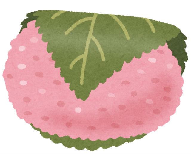 関西風桜餅「道明寺」