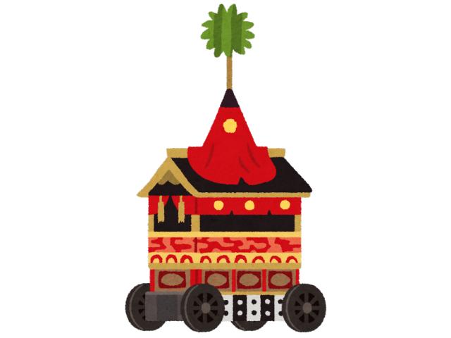 京都祇園祭の山車