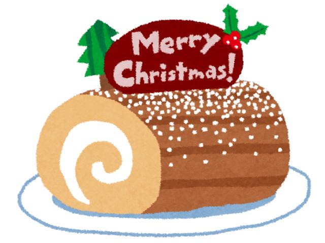 クリスマスケーキ「ブッシュ・ド・ノエル」