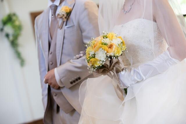 天赦日に行うと良いとされている結婚式の様子